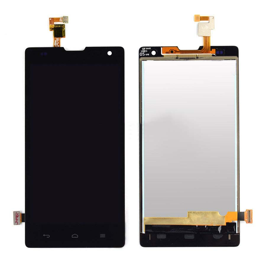 Black LCD Display + Touch Screen Digitizer Assembly Replacements For Huawei Ascend G740 Honor 3C Free Shipping