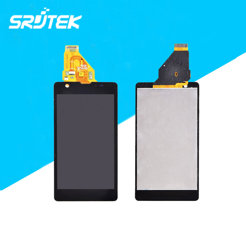 For Original Full LCD Display+Touch Screen Digitizer Assembly Replacement For Sony Xperia ZR M36h M36 C5503 C5502 Free Shipping(China (Mainland))
