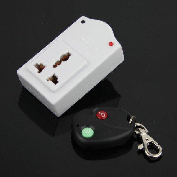 IR Wireless Remote AC Power Switch Outlet Socket Plug Remote control