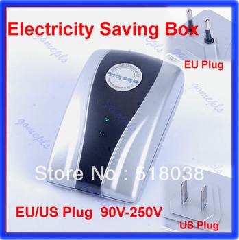 A25Energy Saver Box Power Electricity Saving Box Save Electricity Bill & EU/US  plug