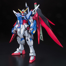 1:100 MG Gundam 20cmTall model Fate Deluxe Edition 007 with stand GUNDAM Decal + stand + light wing Free shipping
