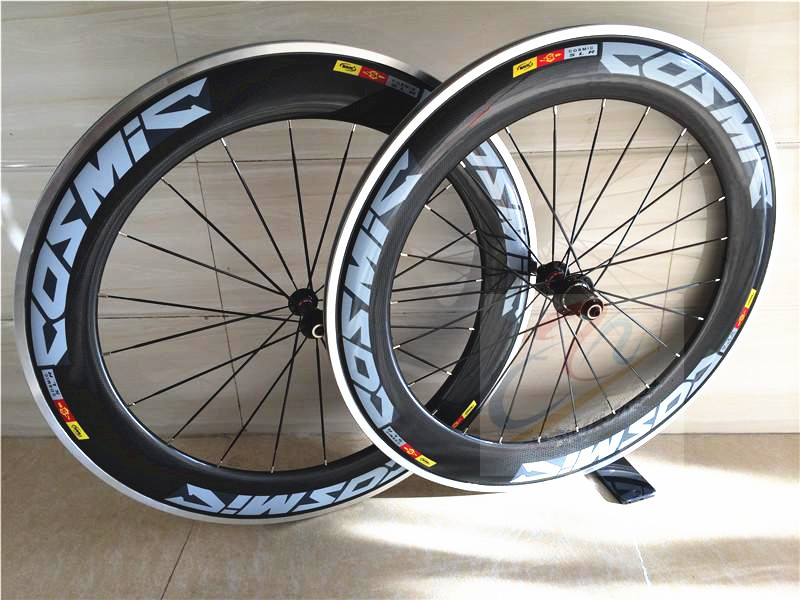 Al Braking Surface Road Carbon Wheels ;Clincher Bicycle Wheels;Depth 90mm;U shape wheelset;Size 700C ;Width 20.6/23/25 mm(China (Mainland))