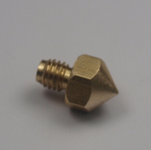 3d printer parts ultimaker original brass nozzle 0.4mm for hot end 3mm filament top quality free shipping copper nozzle