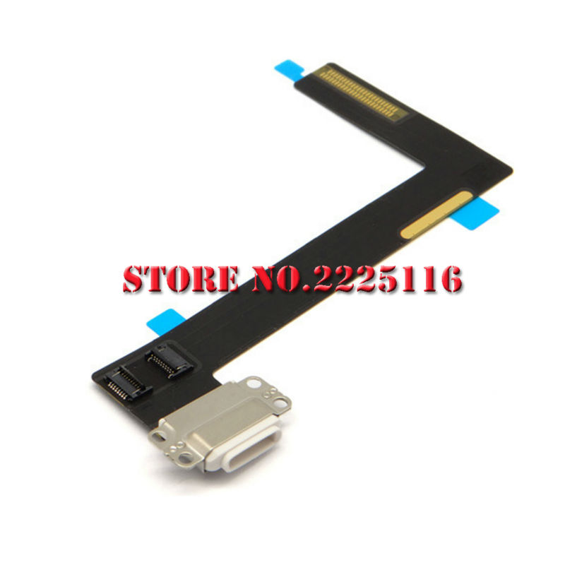 (5 pcs/lot) For iPad 6 air 2 USB Charging Port Plug Flex Cable USB Charger Port Dock Connector Flex Cable Replacement Parts(China (Mainland))
