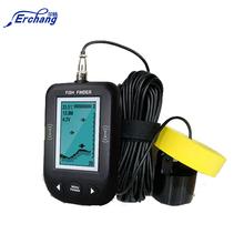 """Erchang Fish Finder 3"""" LED Portable Fish Finder Depth Sonar Sounder Alarm Fishing 100M Sonar Frequency Detection Depth Finder(China (Mainland))"""