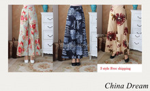 Free Shipping New Arrival Chinese Tradition Women's Cotton Linen Trousers Pants women's national trend chinese style pants 2504(China (Mainland))