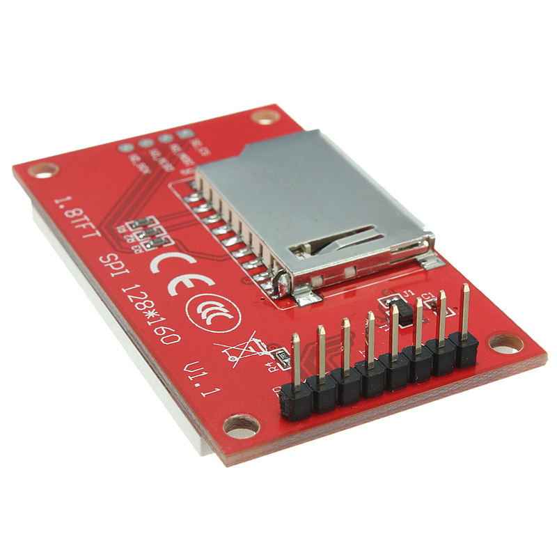 New Electric Unit High quality 1.8 Inch TFT LCD Display Module ST7735S 128x160 51/AVR/STM32/ARM 8/16 Bit Circuit Boards(China (Mainland))