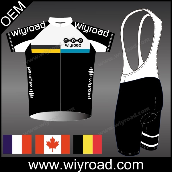 Accept sample order 2015 custom cycling wear/short sleeve cycling wear clothes/oem cycling bibs