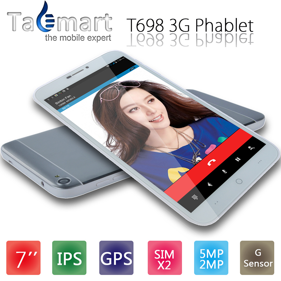 7 Inch Branded Tablet PC Quad Core MTK8382 WCDMA 3G Phone Call Phablet Dual Camera SIM Android OS Windows Surface GPS IPS OGS TP(China (Mainland))