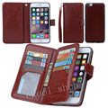 For Apple iphone all New Arrival Luxury Practical Flip 9 Card Slot PU Leather Wallet Case