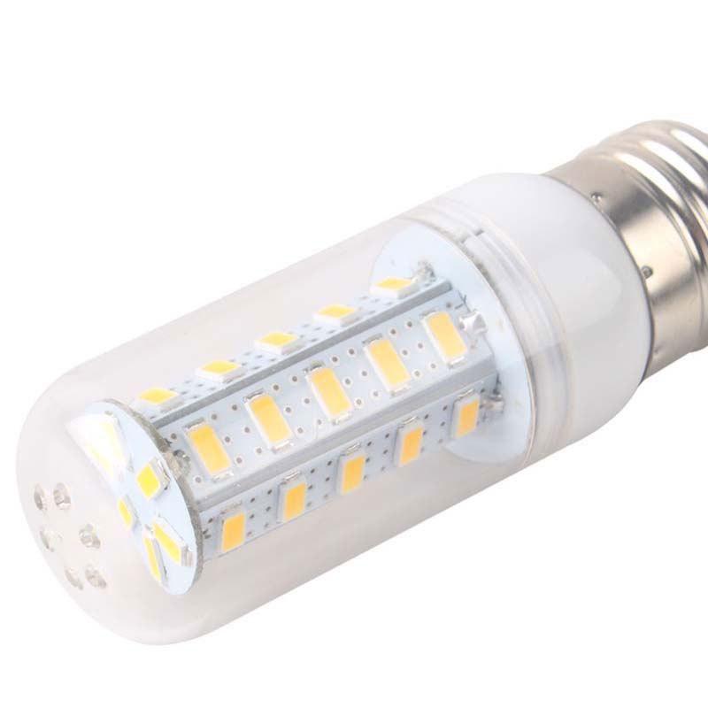 2014 E27 8W 36 LED 5630 SMD Cover Corn Spotlight Light Lamp Bulb Warm Pure White #51415(China (Mainland))