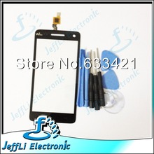 Original Touch Screen Touchscreen Digitizer For Wiko Rainbow S5500 Touch Panel Front Glass 100% Working + Open Tools