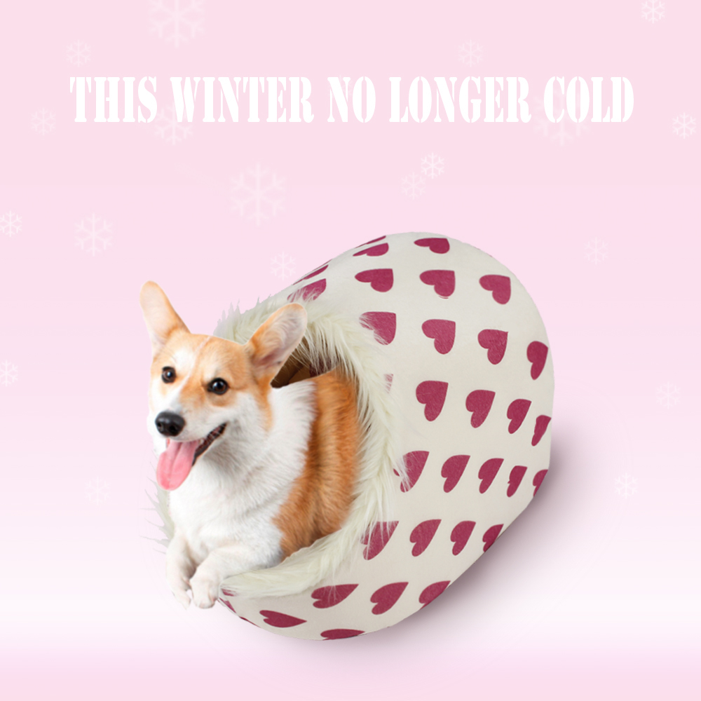 Free Shipping Dog Bed Pet House Lovely Soft Pet Products Dog Kennel Warm Nest For Puppy Removable Washable 5 Choices(China (Mainland))