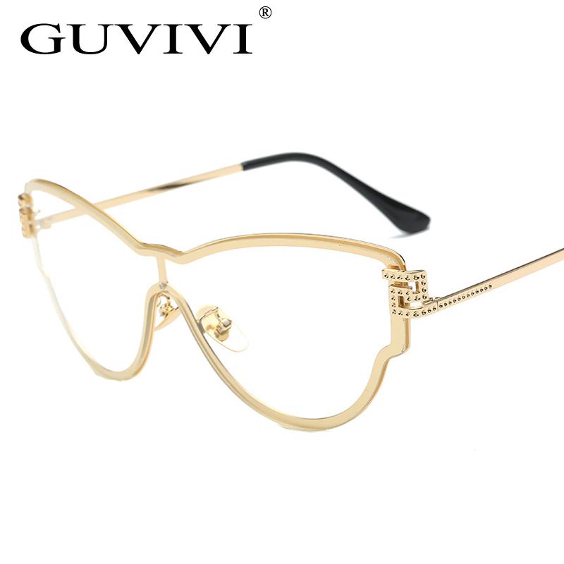 frames for glasses online 5q08  2017 GUVIVI Oversized Rhinestones Myopia glasses women women eyeglass frames  Prescription glasses Lentes opticos mujer 2170