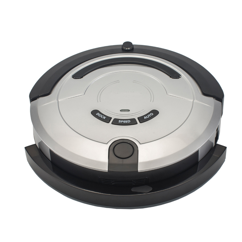 Promotion smart dry and wet robot vacuum cleaner with 300ml water tank and lithium battery in good quality(China (Mainland))