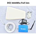 Free Shipping DCS 1800mhz Cell Phone Booster GSM 1800 Mobile Signal Repeater Booster Kits Cell Phone
