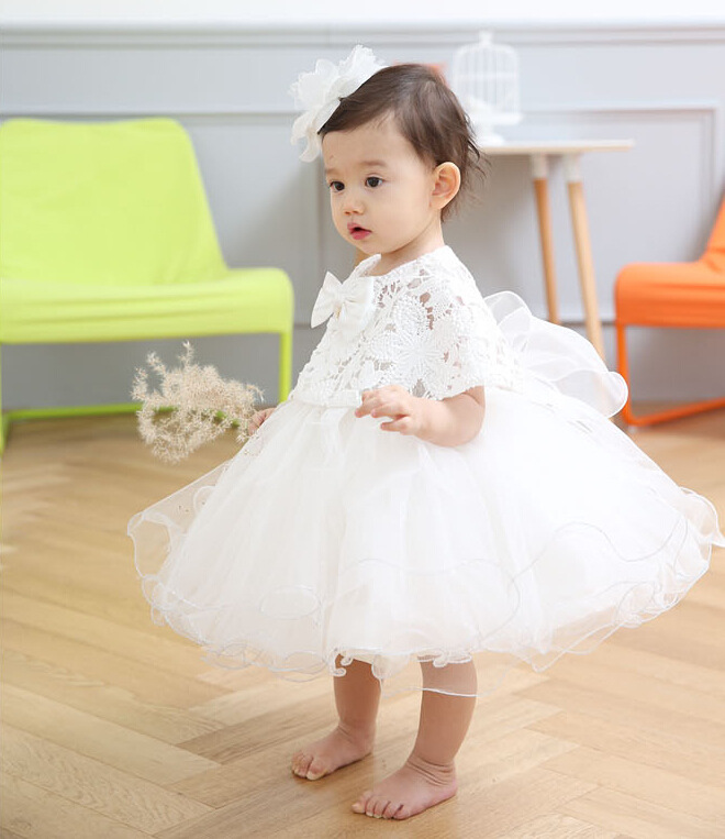 2016 new kids prom two-piece lace flower girl dresses little girls evening gowns female baby princess dress FGD10011(China (Mainland))