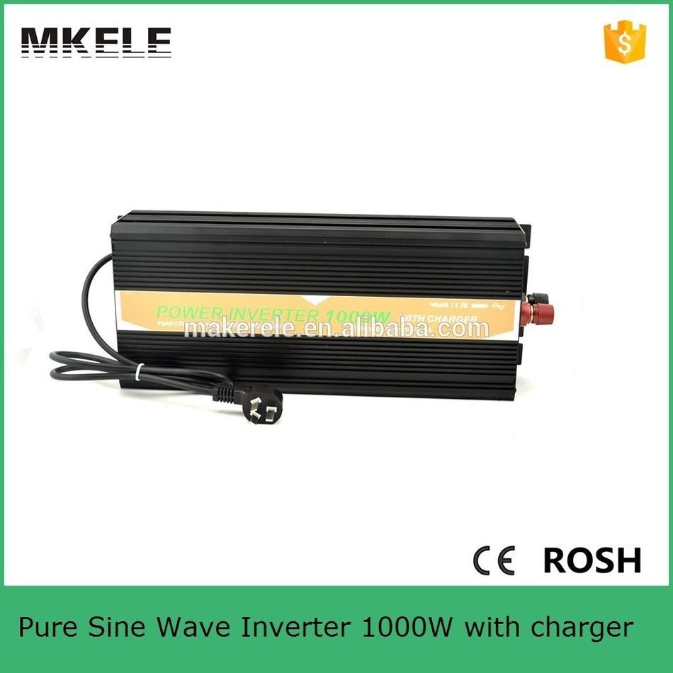 MKP1000-122B-C micro size 12v 220v inverter 1000w power inverter circuit 12v 220v pure sine wave inverter usb 5vdc with charger(China (Mainland))