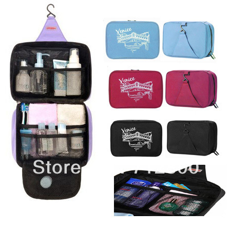 1 Piece High Quality Travel Makeup Organizer & Hanging Toiletry Travel Organizer & Outdoor Cosmetic Bag TB001