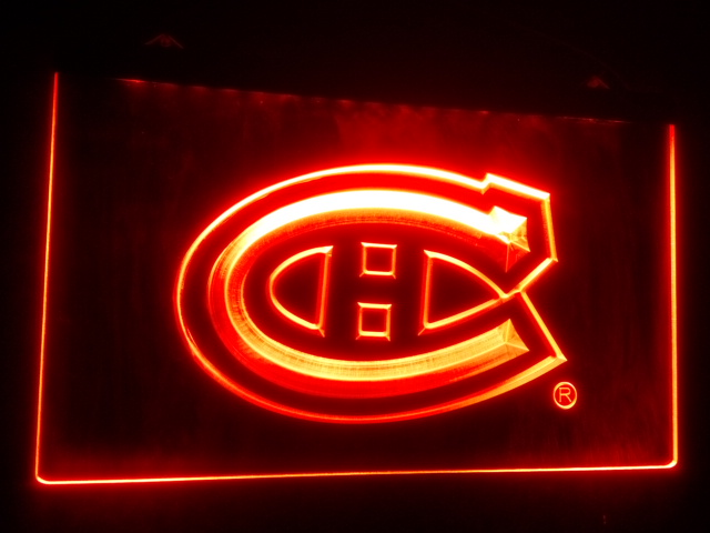 SP-02 Montreal Canadiens Hockey NR beer bar pub club 3d signs LED Neon Light Sign home decor shop crafts