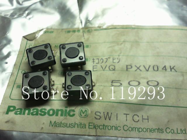 [BELLA]Japans original . EVQ.PXV04K. Legs . Touch switch .12 X12X4.3mm--100pcs/lot<br><br>Aliexpress