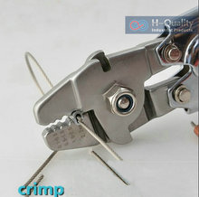 Ferrule Sleeves Crimping Tool Clamp Tool+Steel Wire Rope Cut Working For 0.5MM-2.2MM Size Steel Wire Rope And Ferrule Sleeves