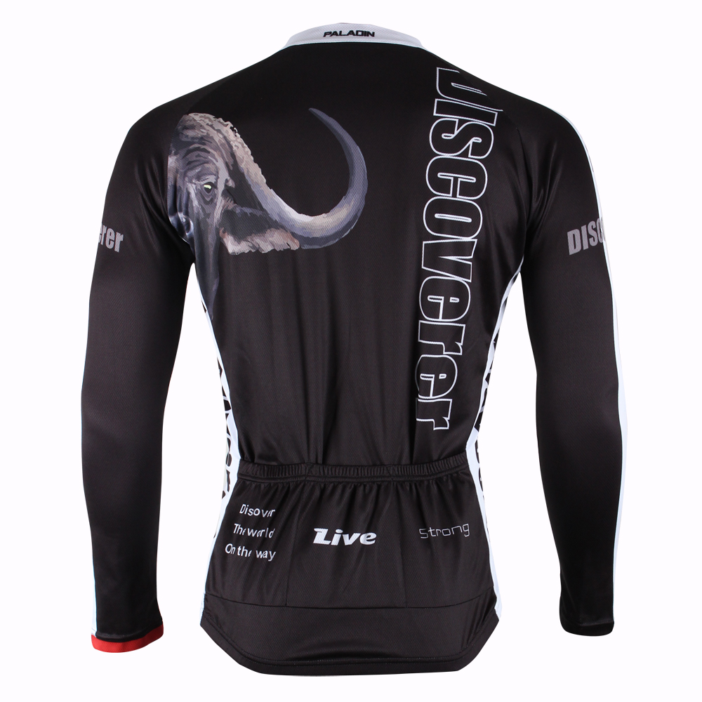 Fulang Cycling Jerseys breathe freely wear resiting ultraviolet proof Black lion HM409(China (Mainland))