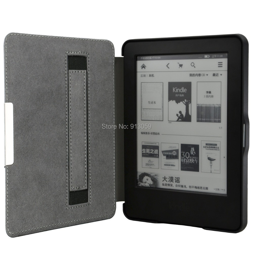 sparkle case for amazon 2014 new  kindle 7th generation 6 ereader super slim protective cover smart case pu leather cover<br><br>Aliexpress