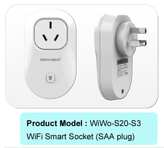 Free shipping Smart plug WiFi Smartphone Remote control socket Wireless Switch support Anddroid/ IOS App for Australia market(China (Mainland))