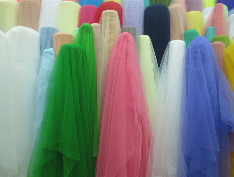 Warp mesh cloth / wedding dress net fabric material / encryption mesh fabric manufacturers wholesale/ free shipping(China (Mainland))