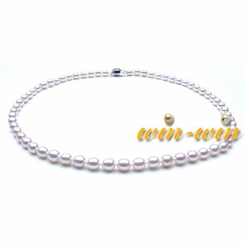 FREE SHIPPING Fashion Freshwater Pearl Necklace 7-8mm AAA Good Quality