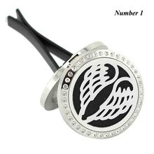 Buy New Car Perfume Locket, 30mm Magnetic Diffuser 316 Stainless Steel Car Aromatherapy Locket Essential Oil Diffuser Lockets for $5.15 in AliExpress store