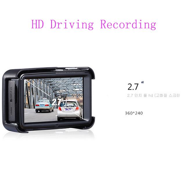 FULL HD 1080P HD Driving Recorder Car DVR Camera 140 Degree G-Sensor New WDR Vehicle Video Recorder with GPS truck dash cam(China (Mainland))