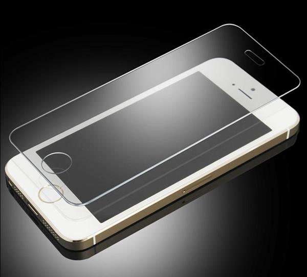 לאייפון 5 מקורי פרימיום מזג זכוכית מגן מסך לאייפון 5s 5c פיצוץ הוכחה מגן מסך חבילה הקמעונאי +מתנה