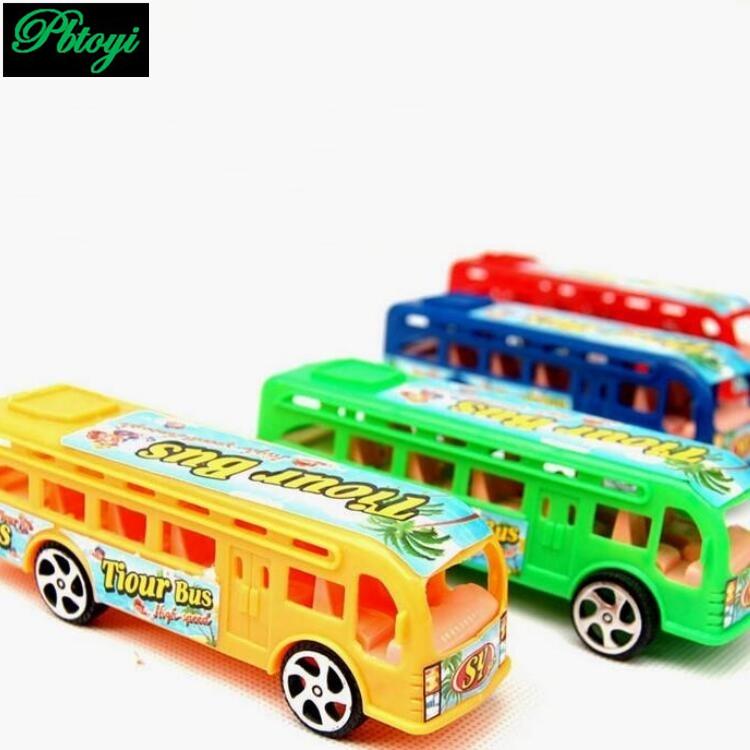 Children's toys wholesale taxi bus toy car model buses 30g PI0665(China (Mainland))