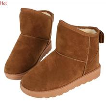 Buy New Snow Boots Women Shoes Botas Masculina 2016 Winter Ankle Boots Top Fashion Casual Plus Cotton Warm Girls Boots Hot SV028502 for $9.99 in AliExpress store