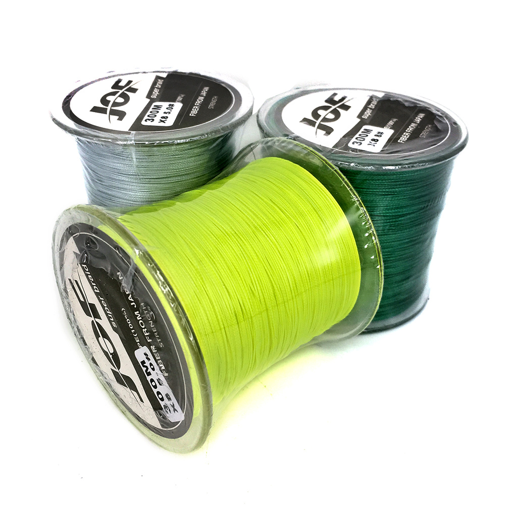 Cheap!!! 2016 New PE Braided Fishing Line Multifilament 8 Stands Carp Fishing Rope Wire 300m Super Strong 30 50 80LB(China (Mainland))