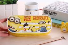 Cute Cartoon Despicable Me Minions Pencil Cases Kawaii School Suppliers Pencil Box Stationery Pen Pencil Bags