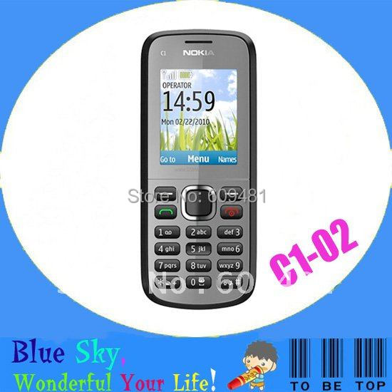 HK post free shipping hany phone C1-02 original unlocked phone(China (Mainland))