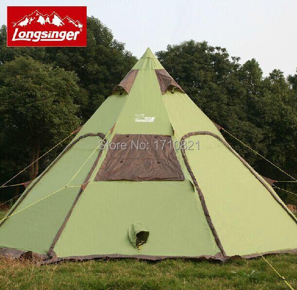 Здесь можно купить  LongSinger 8-12 persons ultralight 400*400*250cm waterproof more than 3000mm camping tent LongSinger 8-12 persons ultralight 400*400*250cm waterproof more than 3000mm camping tent Спорт и развлечения