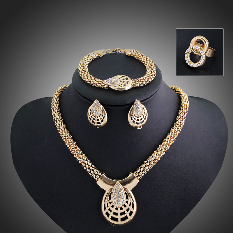 indian cheap fashion wedding bridesmaid bridal jewelry set