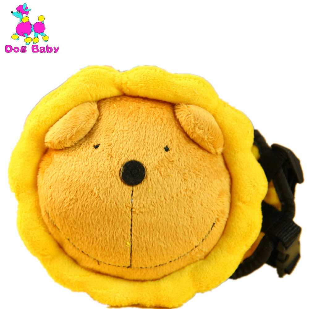 Sunflower Pet Bag 100% Cotton Backpack Pets Fittings Leash Dog Carriers Bags Blue Yellow Color Pet Leash Size S M L High Quality(China (Mainland))