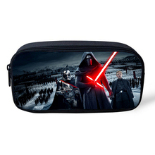 2016 New Arrival Cosmetic Cases For Kids Children Cartoon Character Supermhero Star Wars Bag For Kids Boys Girls(China (Mainland))