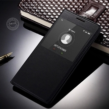 Meizu M2 Note case,VOLSYS Business Style view windows Flip Leather back cover case for Meizu M2 Note