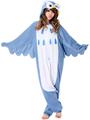 Anime Owl adult onesie Pyjamas Cartoon Animal Cosplay Costume adult Onesie Sleepwear Halloween Cosplay Owl Dress