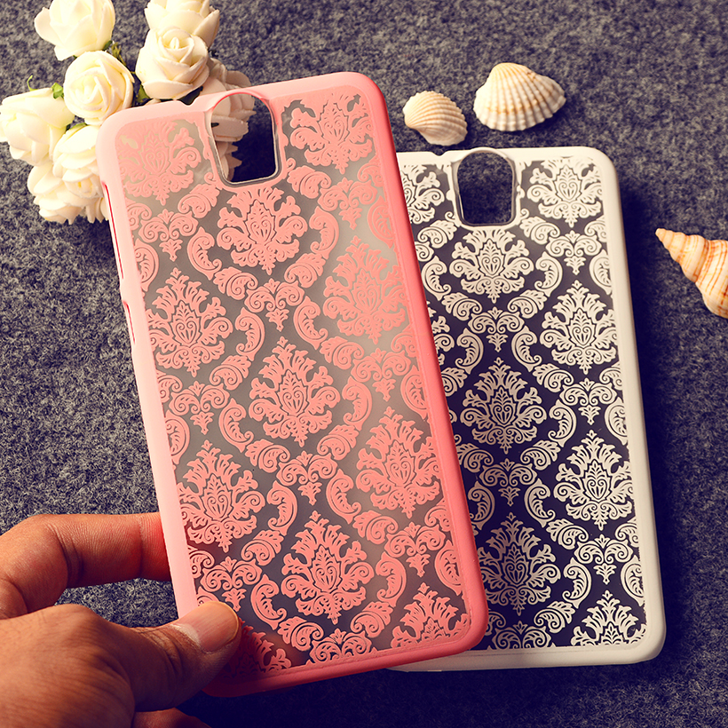 Rubberized Painted Henna Floral Retro Phone Cases For HTC One E9+ E9 PLUS Covers Anti- Scratch Plastic Shield Durable Shell Bags(China (Mainland))