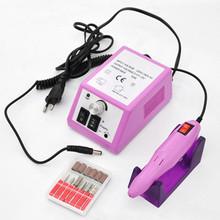Profissional elétrica prego broca máquina Manicure Pedicure Pen Tool Set Kit