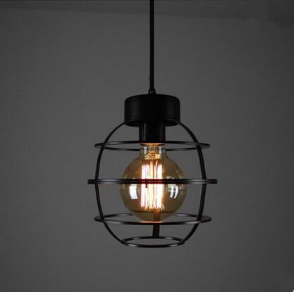 Retro Industrial Vintage Pendant Light,American Country Loft Pendant Lamp For Bar Home Living Hanging Lamp,Lamparas Colgantes<br><br>Aliexpress