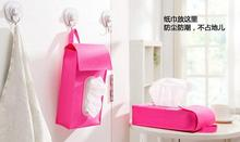 Free shipping Use cloth art paper towel box that occupy the home Cars carry toilet can be hung tissue napkin bins15071216(China (Mainland))