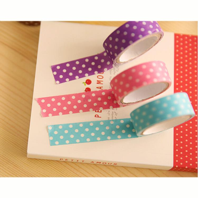 Гаджет  Paper Tape Creative Masking Tape Customizable Adesivo Adhesive Papeleria Cinta Adhesiva Japanese Washi Tape Washitape WJ009 None Офисные и Школьные принадлежности